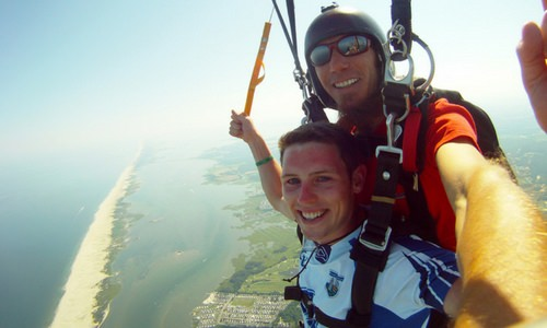 The Meaning of Safety in Skydiving