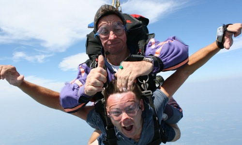Can You Breathe While Skydiving and Other Skydiving Myths