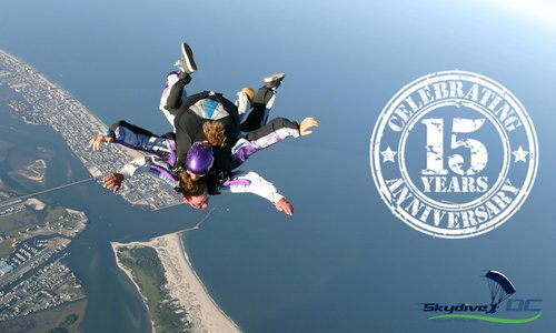 Skydive OC Celebrates 15 Year Anniversary