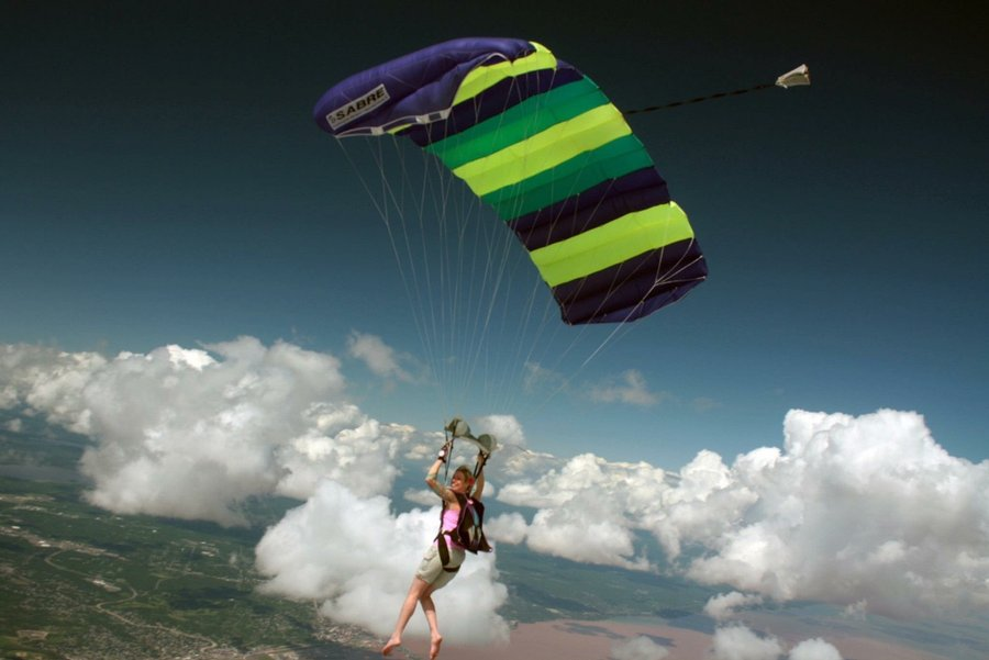 Make it Count Monday: Why Skydiving is Good for Your Health!
