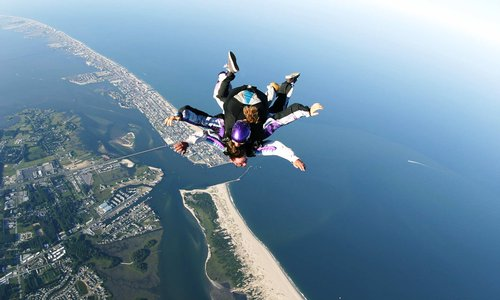 Why a media package is the perfect skydiving addition