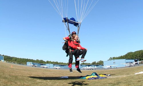 Tandem Skydiving Landings - What to Know