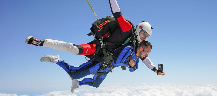 Tandem Skydiving Photo