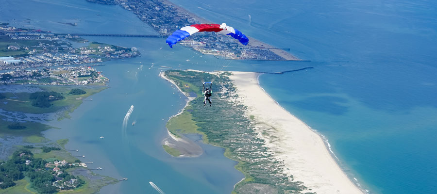 Baltimore Skydiving  Tandem Skydiving near Baltimore