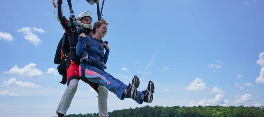 Baltimore Skydiving |Tandem Skydiving near Baltimore